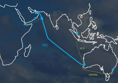 New route ,Oman Astralia Cable (OAC)